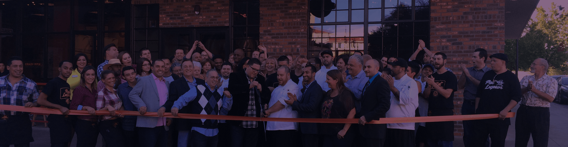 the firm pr client ribbon cutting