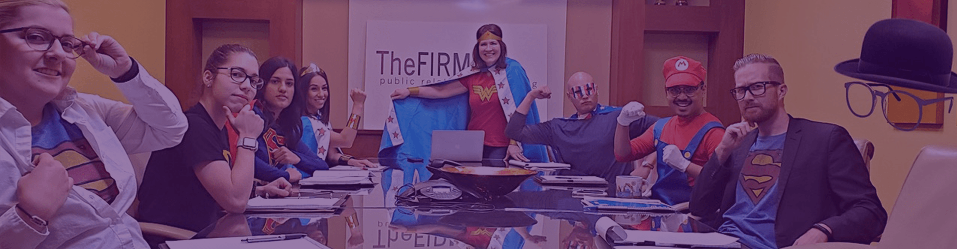the firm public relations superheroes